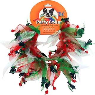 HOLIDAY Party Collar Jingle Bells M
