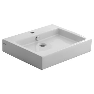 "American Standard 0621.001  Studio 22"" Vessel Porcelain Bathroom Sink - White"