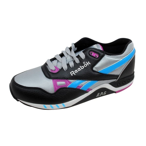Reebok Men's ERS 2000 Platinum/Steel-Black-Purple-Blue 1-173287