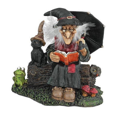 Design Toscano Bewitching Witches Statue Collection: Book of Spells