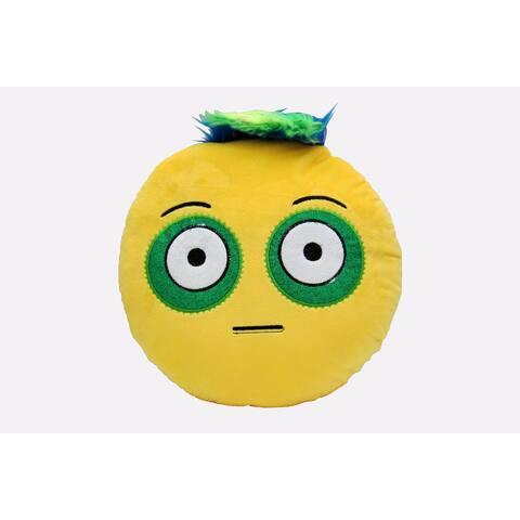 Cushion Emotion Stuffed Plush Toy Pillow Bed Decor Emoji Rockstar -Bugged Out