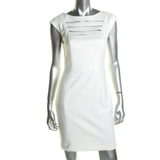 French Connection Womens Ponte Caged Clubwear Dress - 6