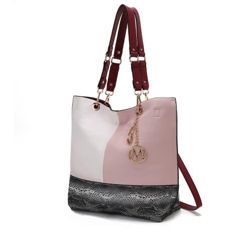MKF Collection Laya Reversible Tote Bag by Mia K.