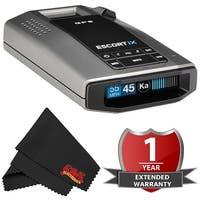 Escort iX Long Range Laser/Radar Detector with GPS, AutoLearn Technology with 2 Year Warranty
