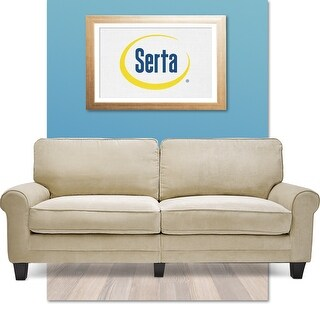 Serta RTA Copenhagen Collection 78-inch Vanity Fabric Sofa