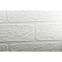Graham and Brown 93744 56 Square Foot - Brick - Non-Pasted Vinyl Wallpaper