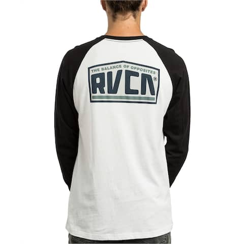 Rvca Mens Roadside Raglan Basic T-Shirt