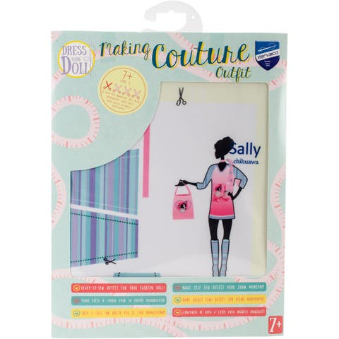 Dress Your Doll Making Couture Outfit Set-Sally Chihuawa