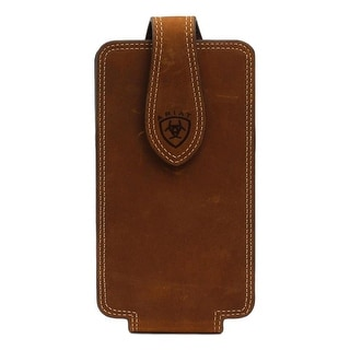 Ariat Western Cell Phone Case Leather 3 3/4 x 6 3/4 Brown - Medium Brown