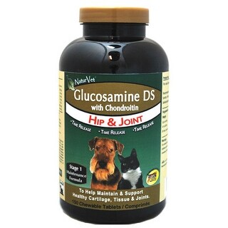 NaturVet Glucosamine DS with Chondroitin Tablets 150ct