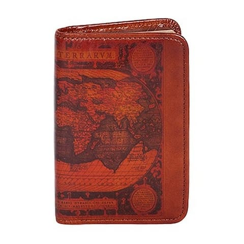 Scully Western Planner Old Atlas Print Personal Agenda - One Size