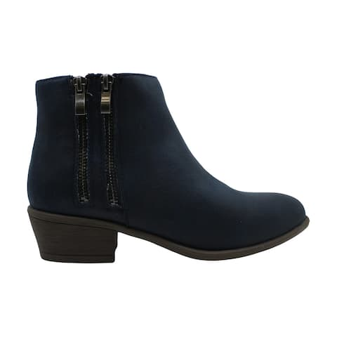 JC JOURNEE COLLECTION Women's Shoes JAYDA-TAN-085 Suede Closed Toe Ankle Fashion Boots