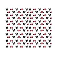76 x 92 in. Mickey & Minnie Ears Step & Repeat - Double Wide