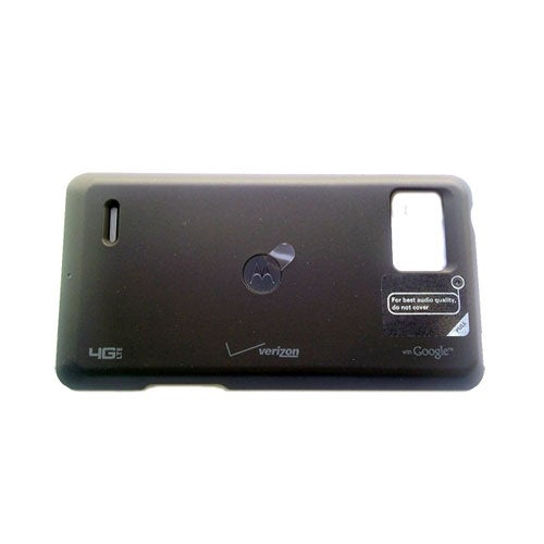 OEM Motorola Droid Bionic Wireless Charging Inductive Battery Door Cover - Black