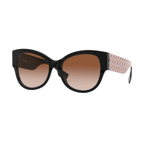 Burberry BE4294 382013 54 Black Woman Butterfly Sunglasses