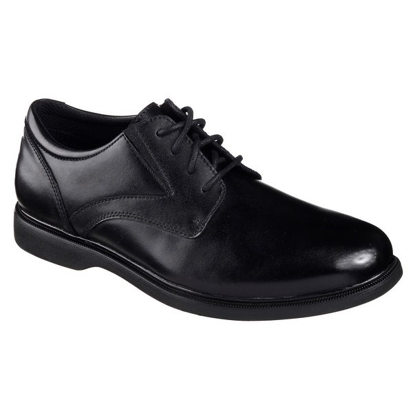 Skechers 65075 BLK Men's REVELT-REMEX Oxford