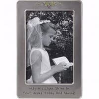 Precious Moments  First Communion Photo Frame - Holds 4 x 6 in. Photo