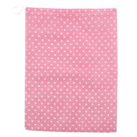 Household Printed Design Drawstring Clothes Shoes Storage Bag Container Pink