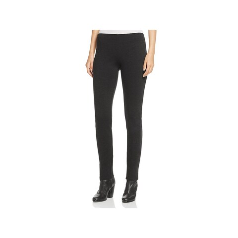 Eileen Fisher Womens Petites Pants Ponte Slim