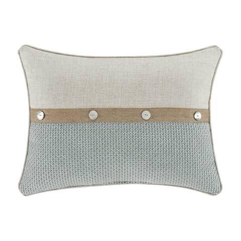 Five Queens Court William Boudoir Decorative Throw Pillow