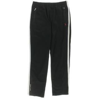 Polo Ralph Lauren Womens Athletic Pants Performance Contrast Trim - L