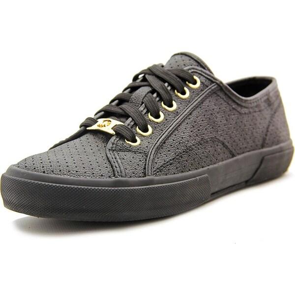 Michael Michael Kors Boerum Sneaker Women  Round Toe Leather Black Sneakers