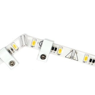 "WAC Lighting LED-TE2435-1-40 White 12"" Length 3500K High Output LED Indoor Tape Light - Package of 40"