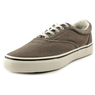 Sperry Top Sider Striper CVO SW Men Round Toe Canvas Sneakers