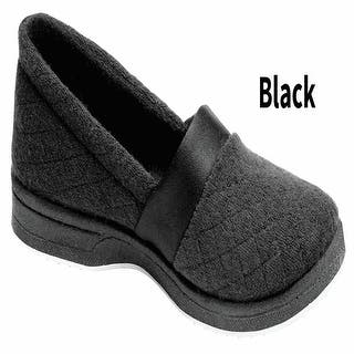 Women's Foamtreads All Season Slip On Slippers - Wide Width|https://ak1.ostkcdn.com/images/products/is/images/direct/138bcc19d85d3c45d990ebacd64bd1b335e2aedb/Women%27s-Foamtreads-All-Season-Slip-On-Slippers---Wide-Width.jpg?impolicy=medium