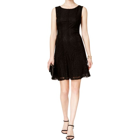 Connected Apparel Womens Casual Dress Lace Lined