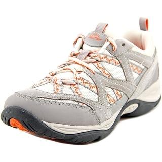 Easy Spirit Explore Map Women Round Toe Synthetic Gray Walking Shoe