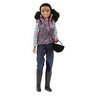 """Breyer 8"""" Schooling Rider """"Nadia"""" Doll - multi"""