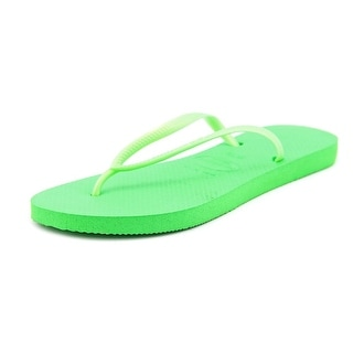 Havaianas Slim Open Toe Synthetic Flip Flop Sandal