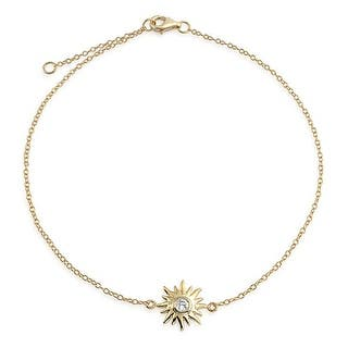 Bling Jewelry CZ Gold Plated Silver Sunburst Charm Sun Anklet Adjustable https://ak1.ostkcdn.com/images/products/is/images/direct/138e098c5f6fa9cccdeaec7bf8a3758d58221ffa/Bling-Jewelry-CZ-Gold-Plated-Silver-Sunburst-Charm-Sun-Anklet-Adjustable.jpg?impolicy=medium