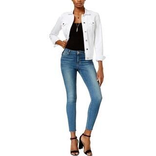 Joe's Jeans Womens Skinny Jeans Denim Raw Hem - 27