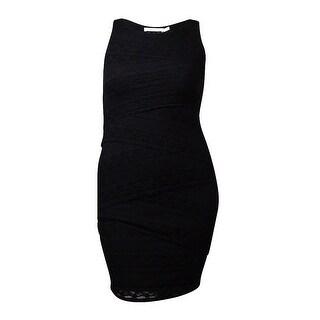 Ali & Jay Women's Sleeveless Tiered Lace Sheath Dress - l