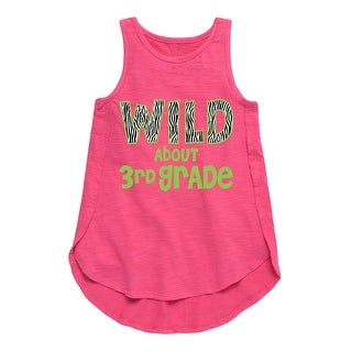 Wild About 3Rd Grade - Youth Girl Tulip Tunic