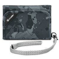Pacsafe 10558802-Grey Camo Anti-Theft RFIDsafe Blocking Tri-Fold Wallet