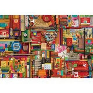 "Vintage Art Supplies - Jigsaw Puzzle 2000 Pieces 40""X27"""