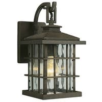 Design House 508275 Townsend Traditional / Classic 1 Light Down Lighting Outdoor Wall Sconce