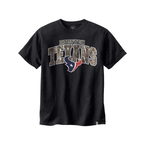 Legendary Whitetails Houston Texans Realtree Camo Flanker T-Shirt - Houston Texans