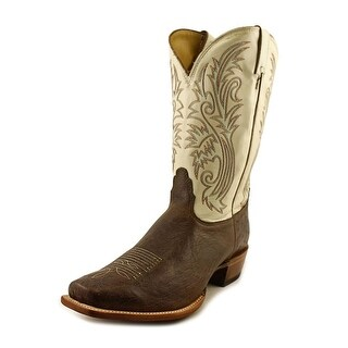 Nocona Premium Smooth Ostrich 2E Pointed Toe Leather Western Boot