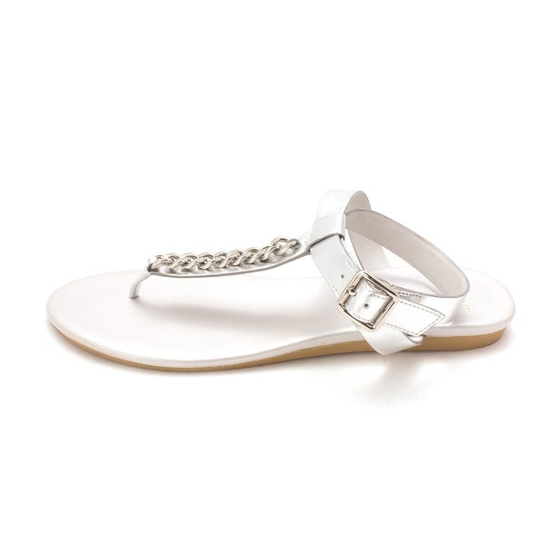 Cole Haan Womens 14A4042 Open Toe Casual T-Strap Sandals - 6