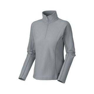 Mountain Hardwear Womens Microchill Half Zip Fleece Sweater Sizes XS-XL - gray
