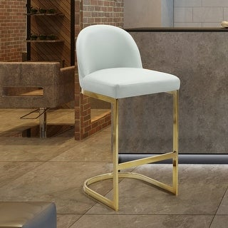 Link to Silver Orchid Boardman PU Leather Bar Stool/Counter Stool Chair Similar Items in Dining Room & Bar Furniture