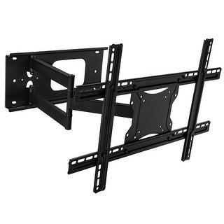 Link to Mount-It! Full Motion Articulating TV Wall Mount Bracket with Tilt, Swivel, Extend, and Compress - Black Similar Items in TV Mounts & Stands
