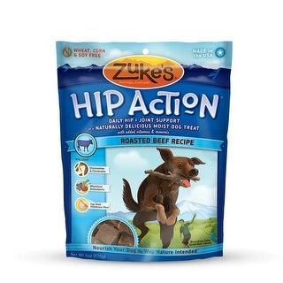 Zuke's Hip Action Treats with Glucosamine Roasted Beef 6 oz.