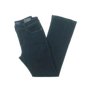 NYDJ Womens Petites Barbara Bootcut Jeans Lift Tuck Technology Slimming Fit