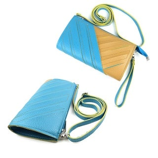 JAVOedge Cut Out Clutch Over the Shoulder Purse with Zipper Organizer, Adjustable and Removable Straps