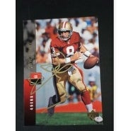 Signed Young Steve 1994 Upper Deck Football Card autographed